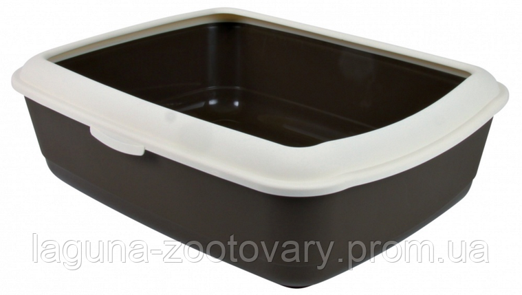"Туалет глубокий с рамкой для кошек и котят ""Классик"", 47х37х15см, фото 2"