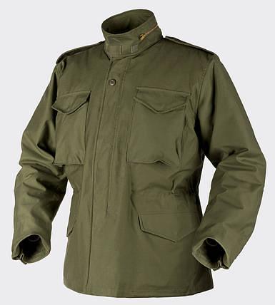 Куртка M65 - Nyco Sateen - олива, фото 2