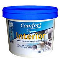 Краска интерьерная Comfort латексная водно-дисперсионная 4.0кг