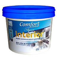 Краска интерьерная Comfort латексная водно-дисперсионная 7 кг