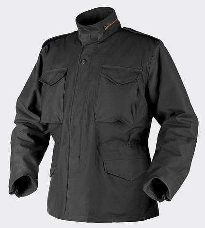 Куртка M65 - Nyco Sateen - чёрная, фото 2