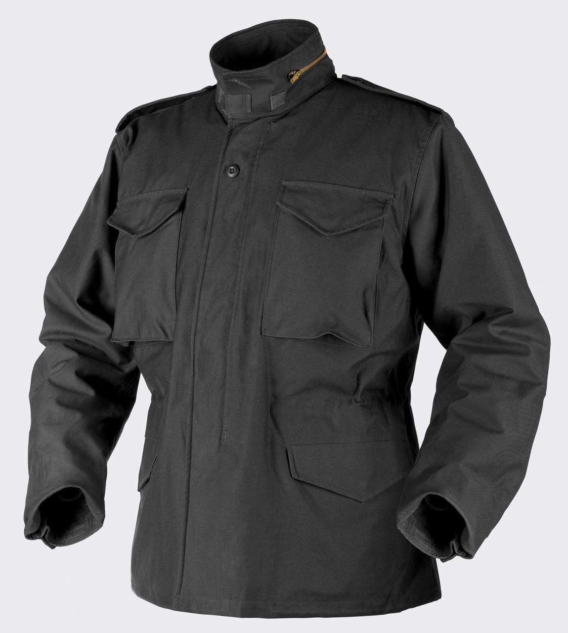 Куртка M65 - Nyco Sateen - чёрная