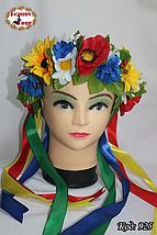 Яркий обруч для волос с лентами Украиночка, фото 2