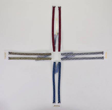 Бретели полосатые с люрексом (LV18) | 4 шт., фото 2