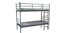 Двухъярусная кровать металлическая, bunk bed,  etagenbett