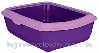 """Туалет глубокий с рамкой для кошек и котят """"Классик"""", 47х37х15см"""