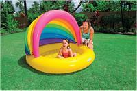 Бассейн для детей от 1 года Интекс 155х135см (Intex 57420)