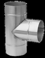 Тройник из нержавеющей стали 87° 0.6mm