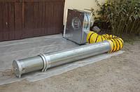 Телескопические вентиляционные трубы