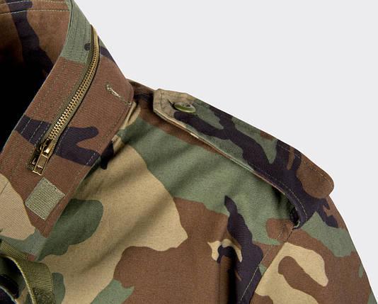 Куртка M65 - Nyco Sateen - US Woodland, фото 2