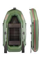 Двухместная надувная ПВХ лодка V230LSP(PS) с привальным брусом (двухместные ПВХ лодки)