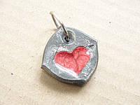 "Брелок ""Сердце, не камень"""