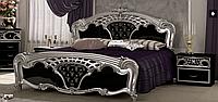 Спальня Реджина (серебро - Черный глянец) (с доставкой)