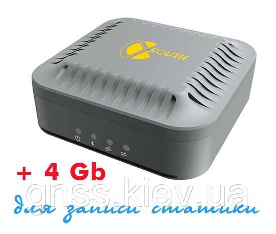 Популярному GNSS RTK приемнику South S660 добавили 4 Гб внутренней памяти для записи статических данных