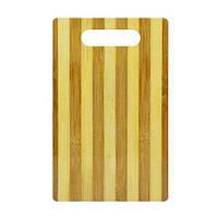 Доска разделочная бамбук 24*16*0,7см, WHW21746-3