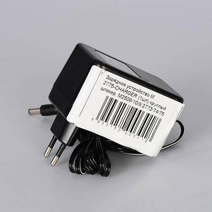 Зарядное устройство 12V/1A для электромобилей M 2775, М 2774, М 2510, М 2509, круглый штекер, фото 2