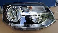 Фара основная правая электрическая Б/У оригинал для Volkswagen Transporter/ Caravelle/ Multivan T-5 09-