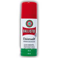 Масло оружейное Klever Ballistol spray 50ml, средство по уходу за оружием, оружейное масло, комплектующее для