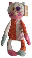 Мягкая игрушка FAMILY-FUN семья Друзяки - КОШКА КЭТТИ (26 см) (13DS1821)