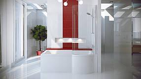 Шторка для ванн Besco PMD Inspiro 170 76x150