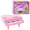 Пианино DN 818 TB (60шт) Фея, на ножках, муз, свет, на бат-ке, в кор-ке, 21,5-19-7см