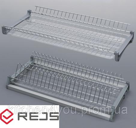 Сушка Rejs Variant 3 хром в секцію 800 мм. з алюмінієвою рамкою