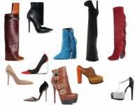 Классификация женской обуви