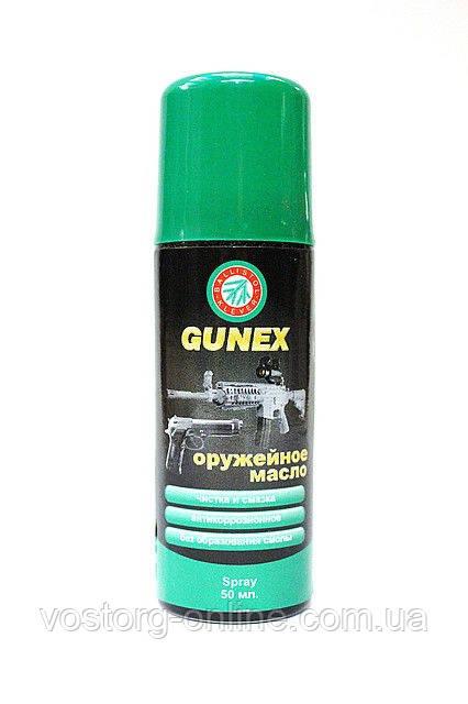 Масло оружейное Klever Ballistol Gunex spray 50ml, средство по уходу за оружием, оружейное масло, комплектующе - Интернет-магазин Восторг Онлайн - товары для различных людей! в Киеве