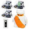 Робот 9102-3-6 (р / у, аккум, 4 вида, звук, свет, слюда, 17-15-10см)