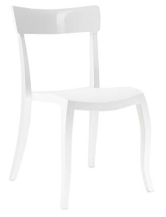 Стілець Hera-S сидіння Біле верх Білий (Papatya-TM), фото 2