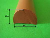 Уплотнитель силиконовый D профиль, фото 1