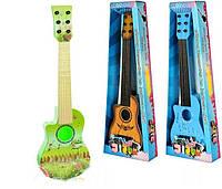 Гитара детская музыкальная  струны, медиатор 188-90-92