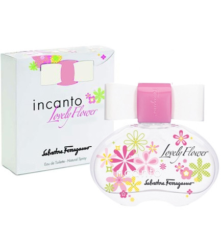 Salvatore Ferragamo Incanto Lovely Flower туалетная вода 100 ml. (Сальваторе Феррагамо Инканто Ловели Фловер)