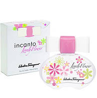 Salvatore Ferragamo Incanto Lovely Flower туалетная вода 100 ml. (Сальваторе Ферагамо Инканто Ловели Фловер)
