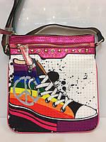 Женская сумка классическая Bonilarti 1073 барсетка - планшет
