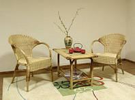 Журнальный столик из ротанга Вест