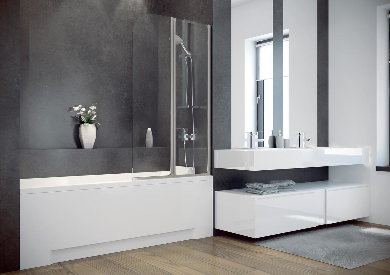 Шторка для ванн Besco PMD Ambition - 2   80.5x140