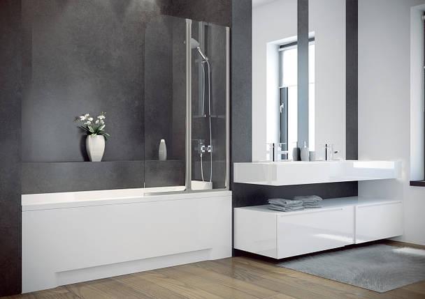 Шторка для ванн Besco PMD Ambition - 2   80.5x140, фото 2