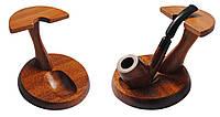 Подставка 995-1 для 1-ой трубки, дерево, цвет коричневый