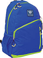"""Рюкзак подростковый Х229 """"Oxford"""", сине-лимонный 552998"""