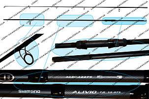 Удилище Shimano ALIVIO DX SPECIMEN 12-275 (Спиннинг для ловли карпа)