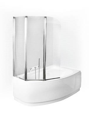 Шторка для ванн Besco PMD Ambition - 3   123x140, фото 2