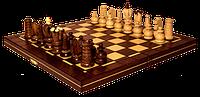 Шахматы 2016 Mini Royal коричневые 32х16х5см (король-65мм)