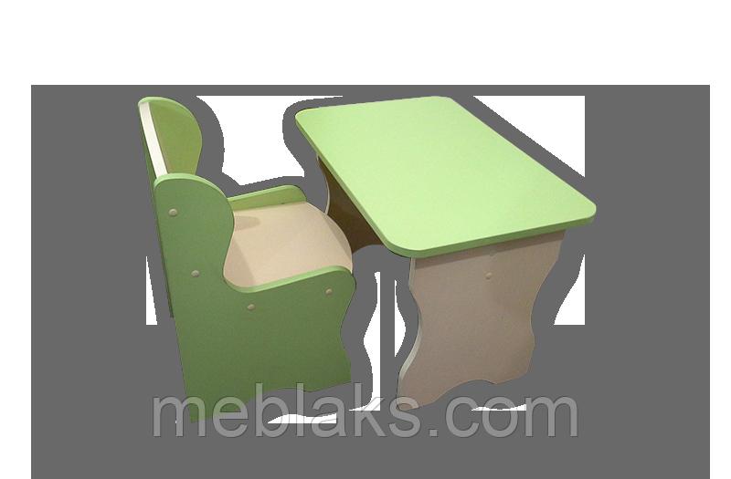 Столик + стульчик Киндер от 2 до 7 лет