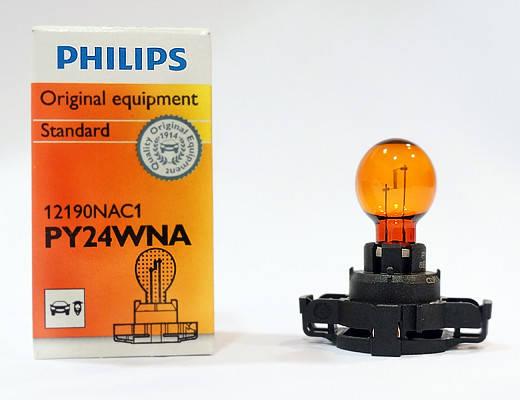 Автомобильная лампа Philips PY24W 12190, фото 2