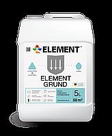 Грунтовка универсальная глубокого проникновения ELEMENT GRUND, 5L
