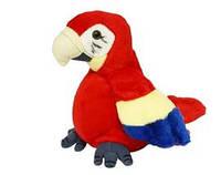 Попугай 1013570 R / CL 1192 A (Повторюшка, двигается, на бат-ке, в шариках, 35-16-10см)