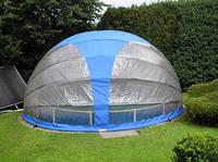 Мобильный павильон для круглого бассейна 4,1 м