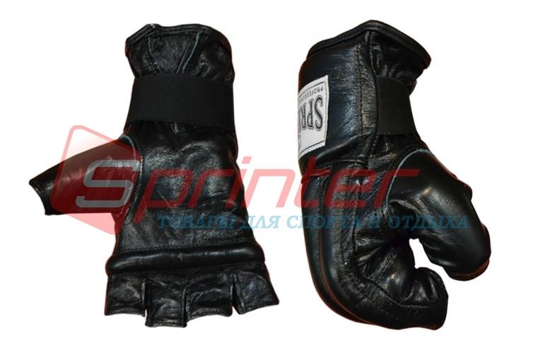 Шингарты кожаные XL (черный) 105-114