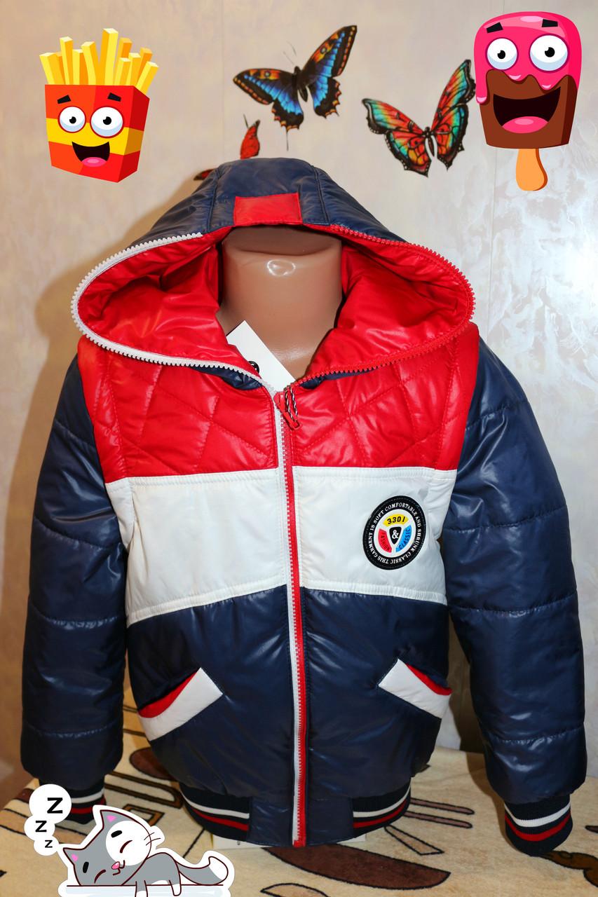 """Куртка на мальчика """"трансформер"""" демисезонная В НАЛИЧИИ 34 размер"""
